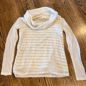MOTH Anthropologie sheer overlay sweater, xs